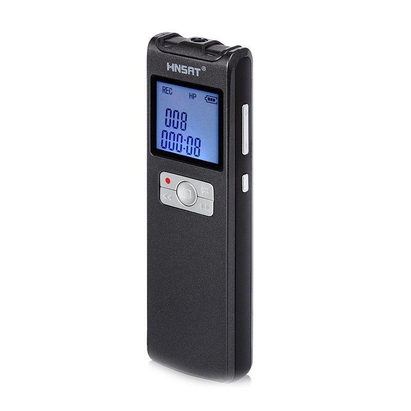 Diktafon DVR-308A s bezdrátovým mikrofonem