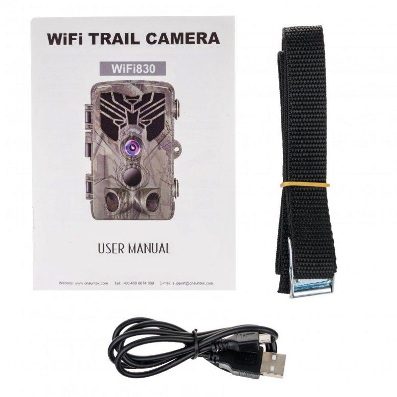 WiFi Fotopast Secutek SST-WiFi830 - 20MP, IP65