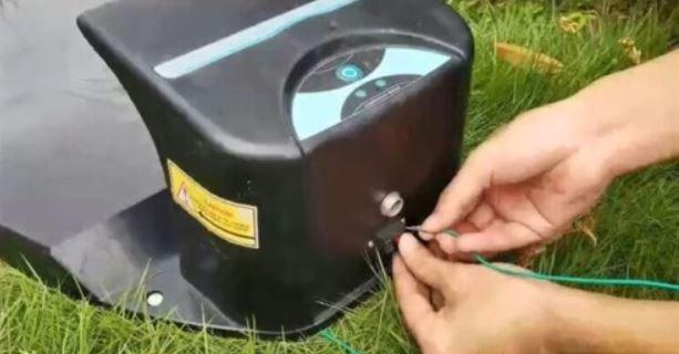 Obvodový drát pro robotické sekačky