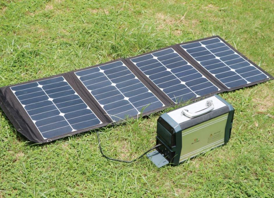 Skládací solární panel 90W