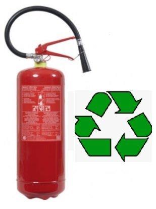 Recyklace hasících přístrojů