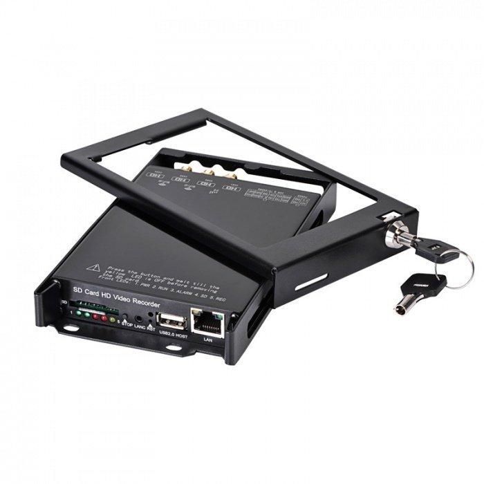 4CH FULL HD DVR do auta s GPS