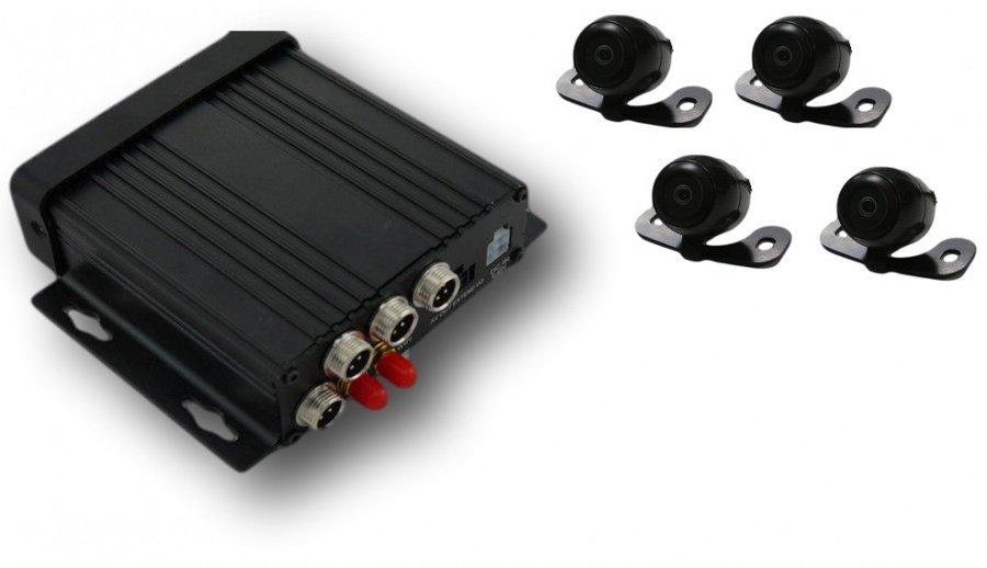 4CH kamerový systém do auta Secutron CarGuard SE-4SDE