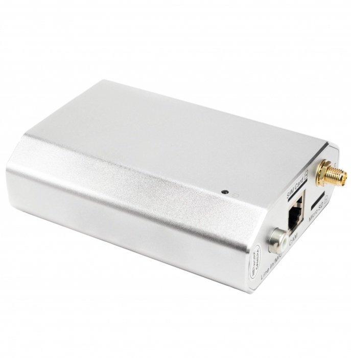 4G HD inteligentní IP server - 4G, WiFI, P2P, PoE + minikamera