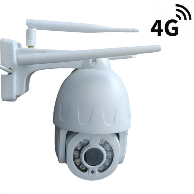 4G PTZ bezpečnostní kamera Secutek SBS-NC57G - 2MP, 5x zoom