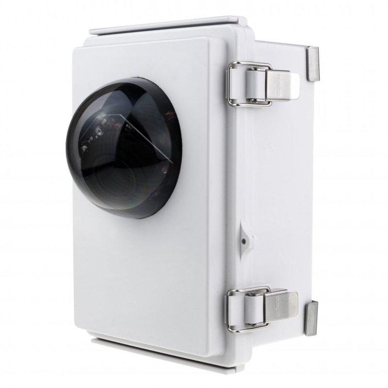5MP přenosná 4G bezpečnostní PTZ kamera s výdrží až 1 rok a 5x optický zoomem - kamufláž v elektroboxu