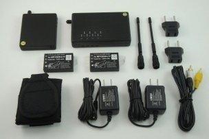 Bezdrátový 500mW vysílač s přijímačem EXCLUSIVE