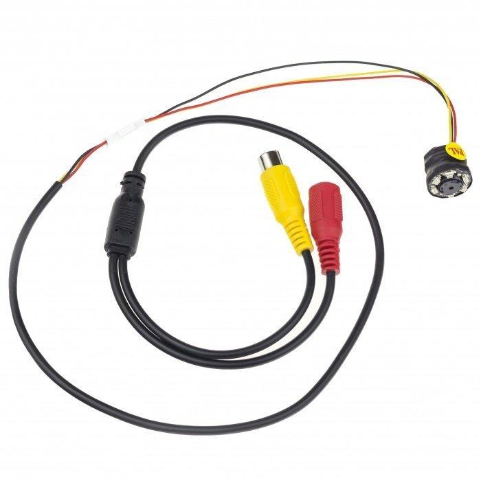 CCTV minikamera - 520TVL; 0 LUX; 52°; IR LED