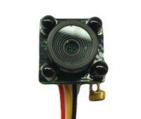 CCTV minikamera - 600TVL; 78°; IR940nm