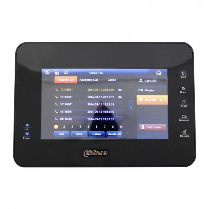 "Dahua VTH1560B videomonitor 7"" - černý"