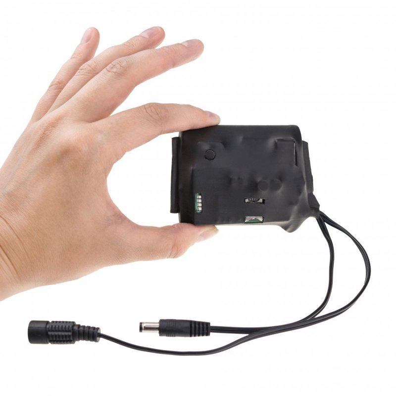 Dálkově spínaná baterie přes GSM síť (SMS) 12V / 5V - 3 000mAh