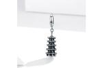 Bamoer stříbrný přívěsek Pagoda