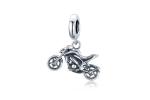 Bamoer stříbrný přívěsek Motorka