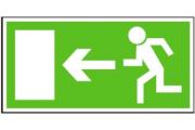 Únikové bezpečnostní tabulky a směry k bezpečí
