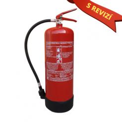 Vodní hasicí přístroj 9l s kontrolou (13A) + REVIZE