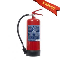 Pěnový hasicí přístroj 6l (13A/144B) + REVIZE