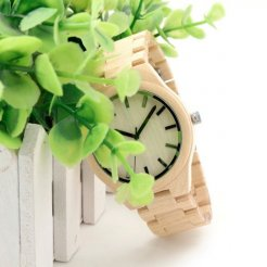 Dřevěné hodinky BOBO BIRD WG30