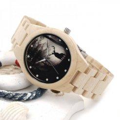 Dřevěné hodinky BOBO BIRD H02