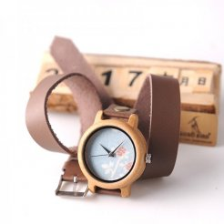 Dřevěné hodinky BOBO BIRD WM23