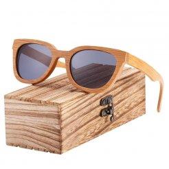 Dřeveněné brýle Shades BCR10 Šedá