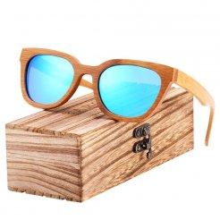 Dřeveněné brýle Shades BCR10 Modrá
