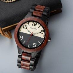 Dřevěné hodinky Quartz BOBO BIRD WQ13
