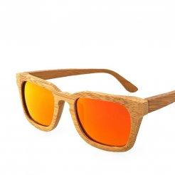 Pánské dřevěné sluneční brýle polarizované ZA01