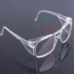Ochranné brýle polykarbonát čiré