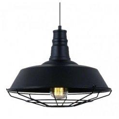 Průmyslová závěsná lampa - černá