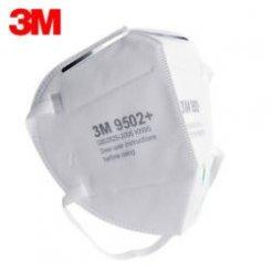 3M 9502+ respirátor KN95 / FFP2 (bez výdechového ventilu)