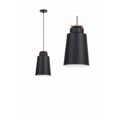 Závěsná stropní lampa Celtis - černá