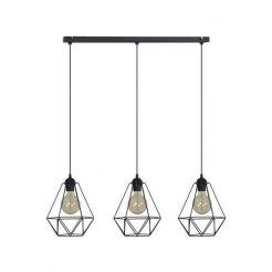 Závěsná lampa Retro Loft 3xE27