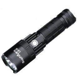 Supfire L6-S LED nabíjecí svítilna Cree LED 2500lm, USB, Li-ion