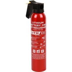 Hasicí sprej na lithiové baterie 0,5 L