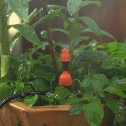 Tryska zavlažovací s regulací, s kolíkem 14 cm
