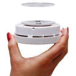 Samolepící magnetický držák pro hlásiče plynů - již žádné šrouby do stropu nebo do stěny