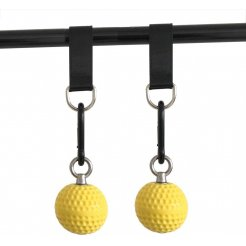 Závěsné posilovací koule na schyby MaxiFit Pull Up Ball 7,2cm