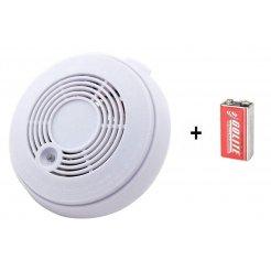 Kombinovaný hlásič požáru a CO Secutek - VIP-910S + baterie 9V zdarma
