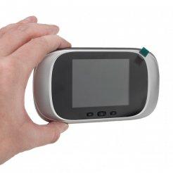 """Digitální dveřní kukátko 2,8"""" LCD, IR - SF-DD1"""