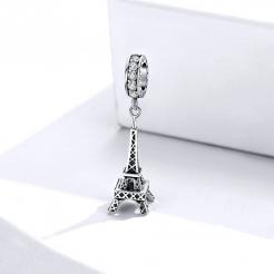 Bamoer stříbrný přívěsek Eiffelova věž