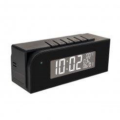 Špionážní kamera Secutek SAH-IP035 v digitálním budíku - WiFi, HD