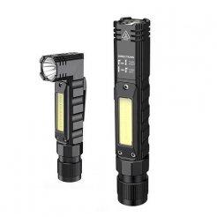 Supfire G19 Kombinovaná LED svítilna a LED čelovka 500lm, USB, Li-ion
