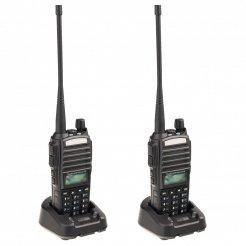 Sada 2ks UHF vysílaček Baofeng UV-82 (8W)