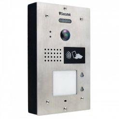 Kovový videozvonek Secutek SPL-111K-2 s RFID čtečkou