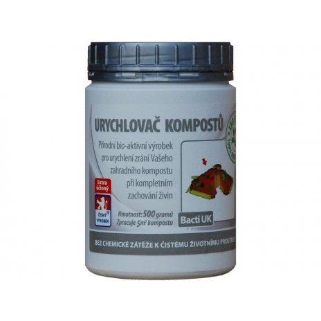 Bacti UK - Urychlovač kompostů