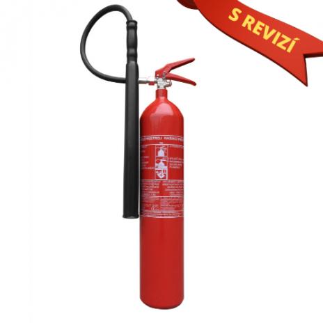 Sněhový hasicí přístroj 5kg (70B) + REVIZE