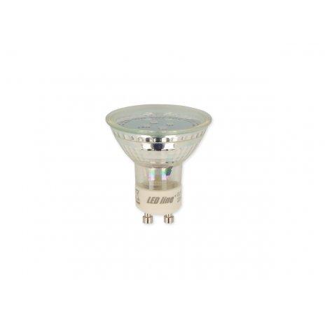 Led Line LED žárovka GU10 1W SMD 80lm teplá (10W)