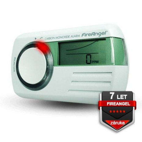Detektor CO s multi LCD FireAngel CO-9D