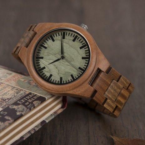 Dřevěné hodinky BOBO BIRD G19