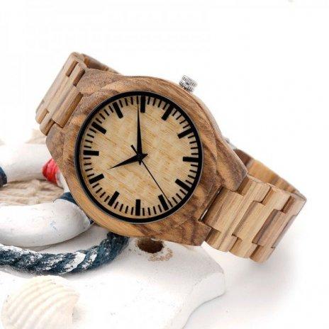 Dřevěné hodinky BOBO BIRD G23